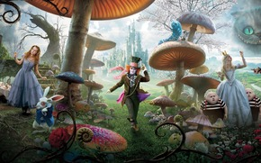 Alice in Wonderland, тим бартон, Alice