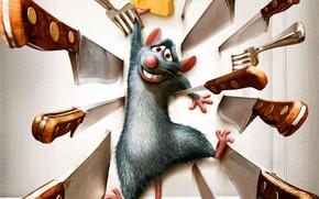 рататуй, мышь, мультик
