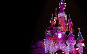 castello, controluce, Disneyland