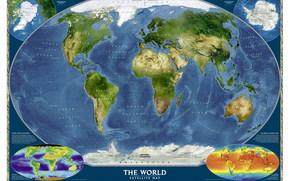 карта мира, страны, текстуры