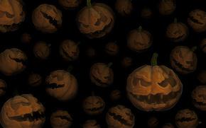 тыквы, хэллоуин