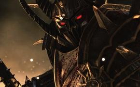 хаос, view, warrior, armor