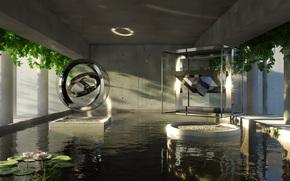 water, room, Pool