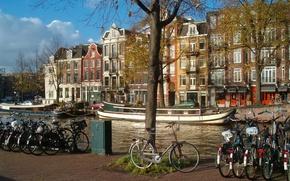 набережная,  амстердам