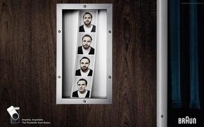 braun,  бритва,  борода,  мужчина,  фото