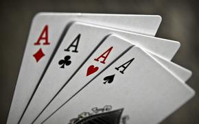 macro, game, cards, suit, suit, signs, Symbols, Aces, letters