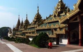 пагода,  мьянма