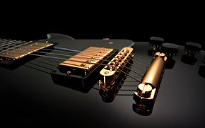 гитара, струны, дека