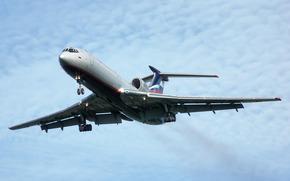 plane, Tupolev, aeroflot
