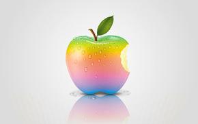 リンゴ, 虹, リンゴ