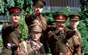 Black Adder 4, Blackadder Goes Forth, filme, filme