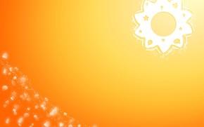 солнце, минимализм, символы, лето