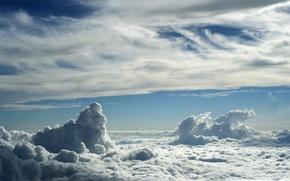 небо,  облака,  день
