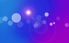 泡, グループ, 光, 紫, 青