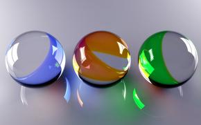 шары, стеклянные шарики
