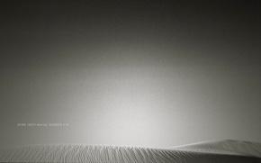 沙漠, 沙, 空的, 灰色