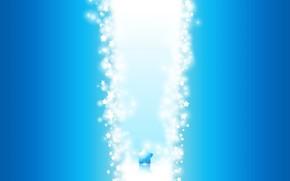 wiato, niebieski, Gwiazda