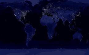 hart, noapte, lumina