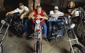 bikers, Motorcycles, tough guys
