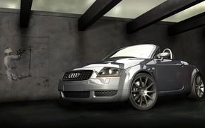 auteur, machine, Audi