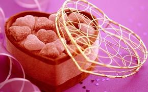 cuore, cuore, cuore, Cuori, amore, caramelle, caramello, confezione