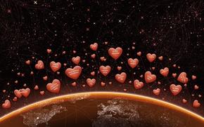 сердечки,  день святого валентина,  любовь,  я тебя люблю