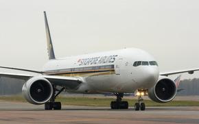 самолет, лайнер, боинг