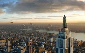 кинг-конг, самолеты, нью-йорк