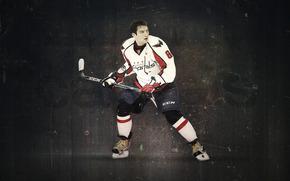 Alexander, Ovechkin, hockey, club, skates