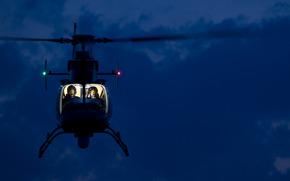 pilot, helicopter, cabin, lights