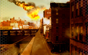 Style Krayzis, Apocalypse, Meteor, Home, New York