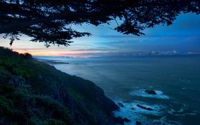 Paisajes, foto, mar, rocas, ocano, agua, ver, Naturaleza