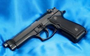 gun, Beretta, trunk, canvas