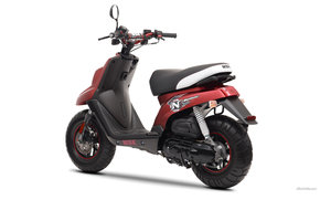 MBK, Scooter, Booster Naked, Booster Naked 2011, мото, мотоциклы, moto, motorcycle, motorbike
