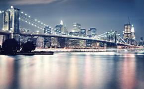 ponte, fiume, citt