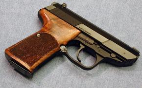 пистолет, ствол, германия, джинсовая ткань