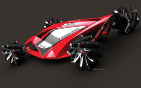 Car, jon hull, Concept