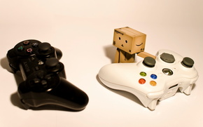 Dambo, Cartn Robot, xbox 360, Playstation 3, palanca de mando