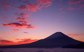 Fuji, montanha, Japo
