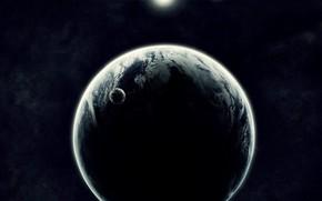 планеты, спутник, солнце