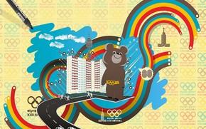 мишка, олимпиада, ссср