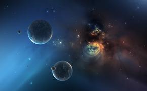 地球, 明星, 空间, 空间
