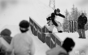 sport, Extreme, Snowboarding, competition, descent, snowboard, boys, adrenaline, photo, black and white