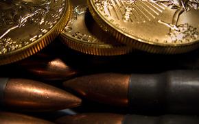 弹药, 子弹, 硬币, 宏