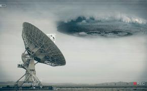 OVNI, radar, plaque