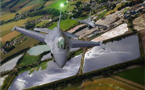 F-16,  Falcon,  истребитель