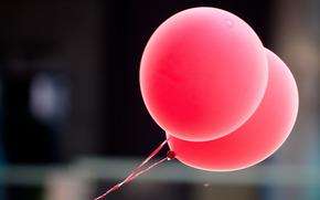 шарики, макро, шары, воздушные, настроение