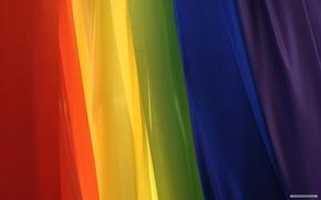 радуга,  ткань,  цвета