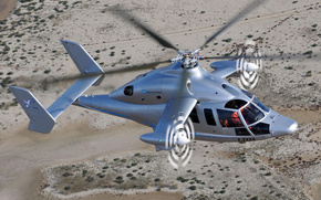 Eurocopter X3, helicopter