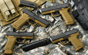 hekler & koch 45-stilllife, weapon, weapon